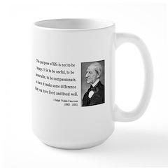Ralph Waldo Emerson 17 Mug