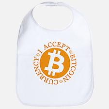 Type 2 I Accept Bitcoin Bib