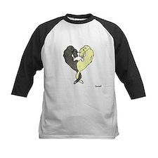 Irish Wolfhound Heart Baseball Jersey
