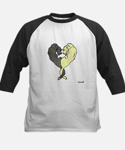 Irish Wolfhound Heart Baseball Jersey