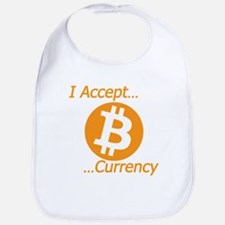 Type 2 I Accept Bitcoin Currency Bib
