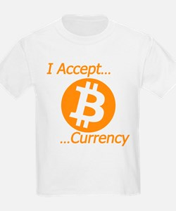 Type 2 I Accept Bitcoin Currency T-Shirt