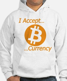 Type 2 I Accept Bitcoin Currency Hoodie