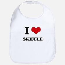 I Love SKIFFLE Bib