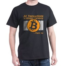 All Transactions in Bitcoin Currency T-Shirt