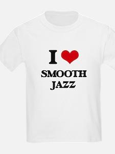 I Love SMOOTH JAZZ T-Shirt