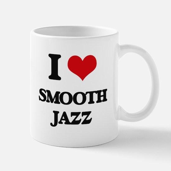 I Love SMOOTH JAZZ Mugs