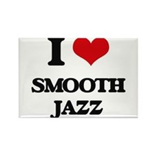 I Love SMOOTH JAZZ Magnets