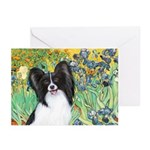 Irises & Papillon Greeting Cards (Pk of 10)