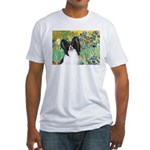 Irises & Papillon Fitted T-Shirt
