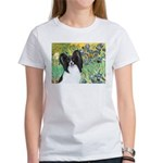 Irises & Papillon Women's T-Shirt