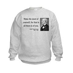 Ralph Waldo Emerson 19 Sweatshirt