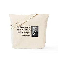 Ralph Waldo Emerson 19 Tote Bag
