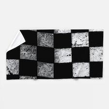 Checkered Flag Beach Towel