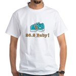 26.2 Marathon Runner White T-Shirt
