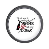 Dog lover Wall Clocks