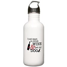 Wine and Dog Water Bottle