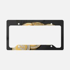 Unique Bitcoin License Plate Holder