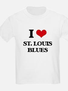 I Love ST. LOUIS BLUES T-Shirt