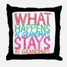Funny Happens Throw Pillow