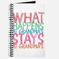 What Happens at Grandma's Journal