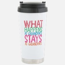 What Happens At Grandpa Travel Mug