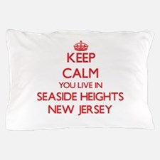 Keep calm you live in Seaside Heights Pillow Case
