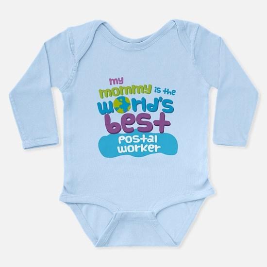 Postal Worker Gift for Kids Infant Bodysuit Body S