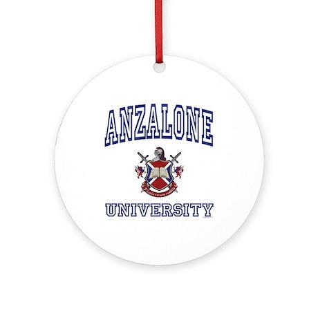 ANZALONE University Ornament (Round)