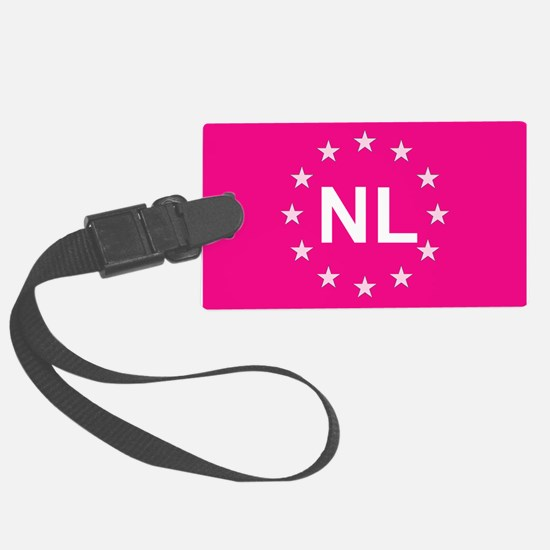sticker nl pink 5.psd Luggage Tag