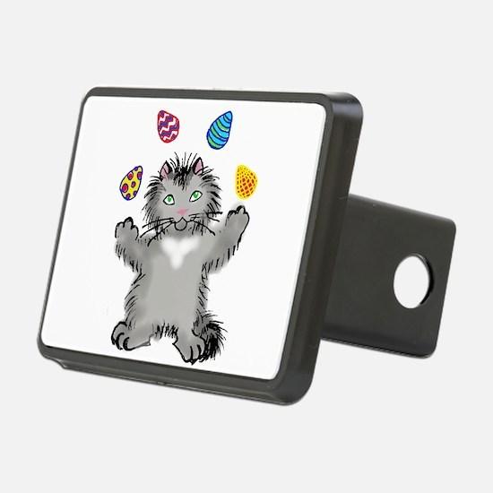 Grey Kitten Juggling Easte Hitch Cover