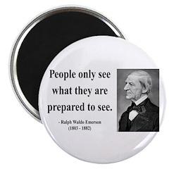 "Ralph Waldo Emerson 20 2.25"" Magnet (10 pack)"