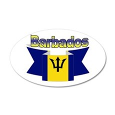 I Love Barbados Wall Sticker