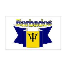 I Love Barbados Wall Sticker