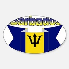 I love Barbados Decal