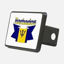 I Love Barbados Hitch Cover
