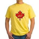 Canada, eh? Yellow T-Shirt