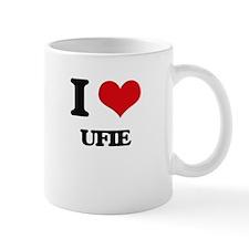 I Love UFIE Mugs