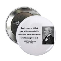"Ralph Waldo Emerson 22 2.25"" Button (100 pack"