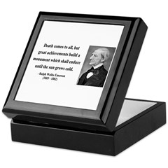Ralph Waldo Emerson 22 Keepsake Box