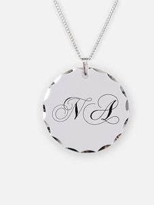 NA-cho black Necklace