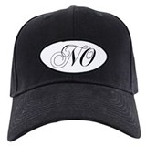Caps no monogram Black Hat