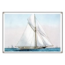 Cutter Yacht Thistle Banner