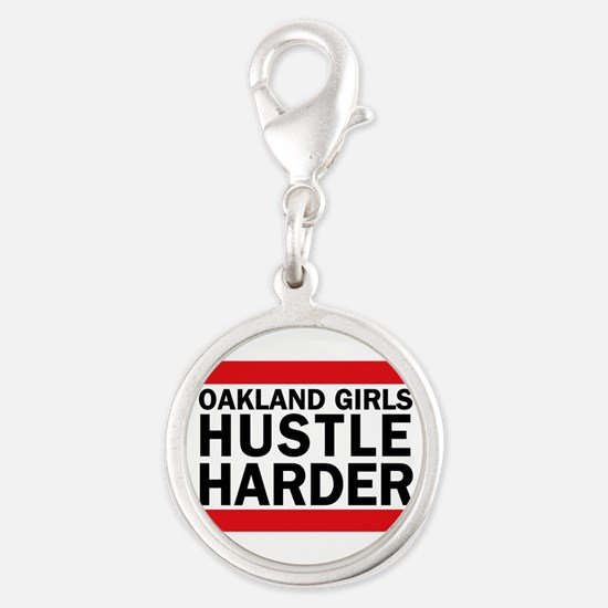 OAKLAND GIRLS HUSTLE HARDER Charms