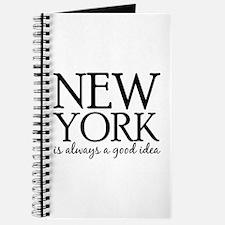 New York Is Always A Good Idea Journal