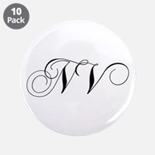 """NV-cho black 3.5"""" Button (10 pack)"""