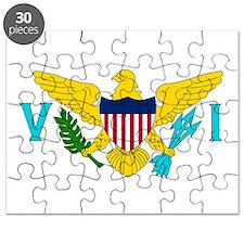 USVI Flag Puzzle