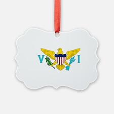 USVI Flag Ornament