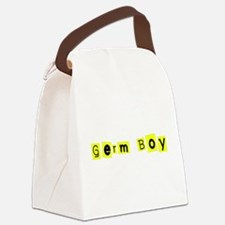 Hilariously Funny Germ Boy for Ba Canvas Lunch Bag