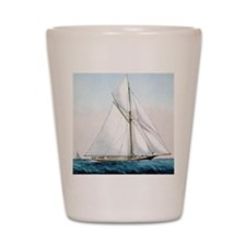 Cutter Yacht Thistle Shot Glass